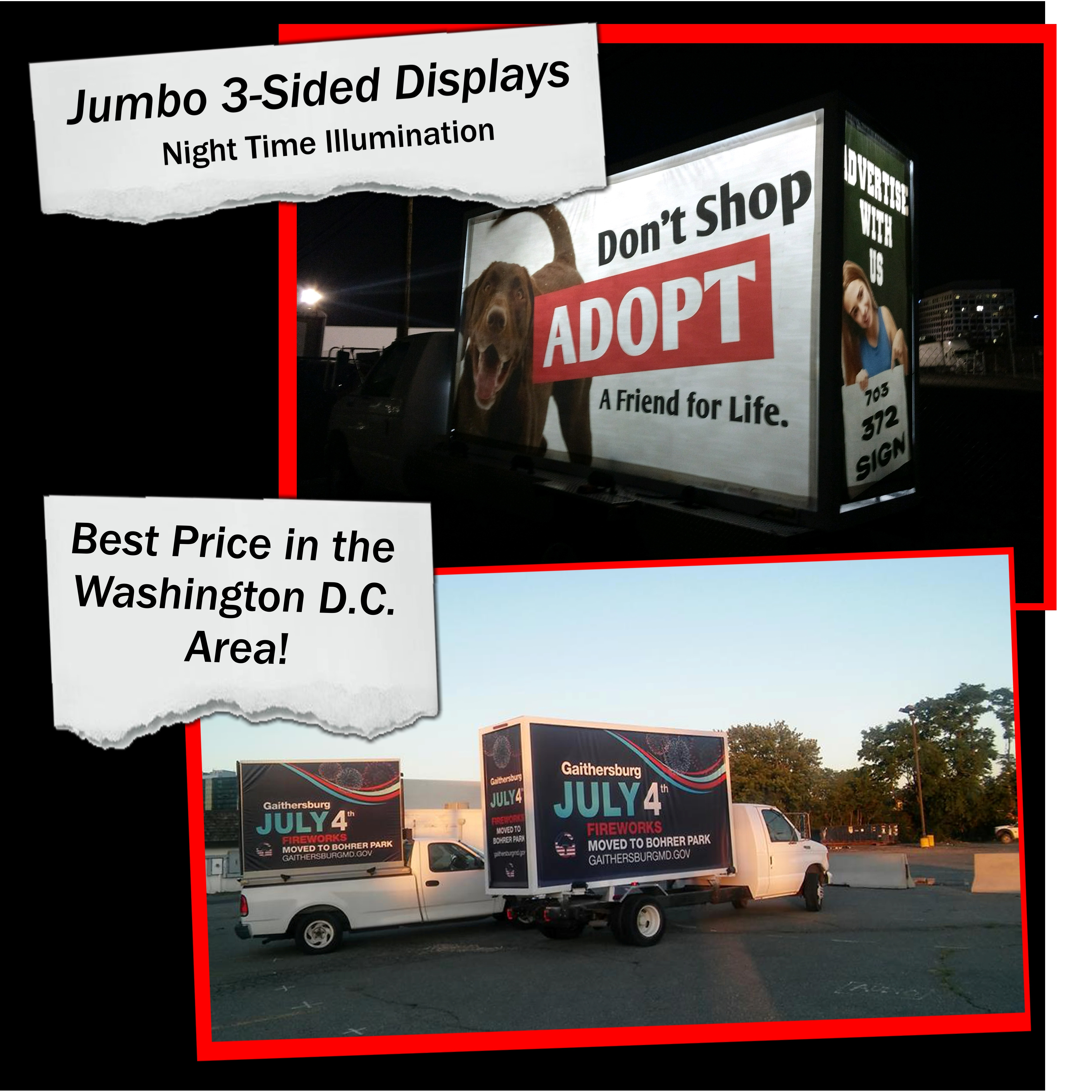 Washington D C  Mobile Billboard Advertising | Mobile
