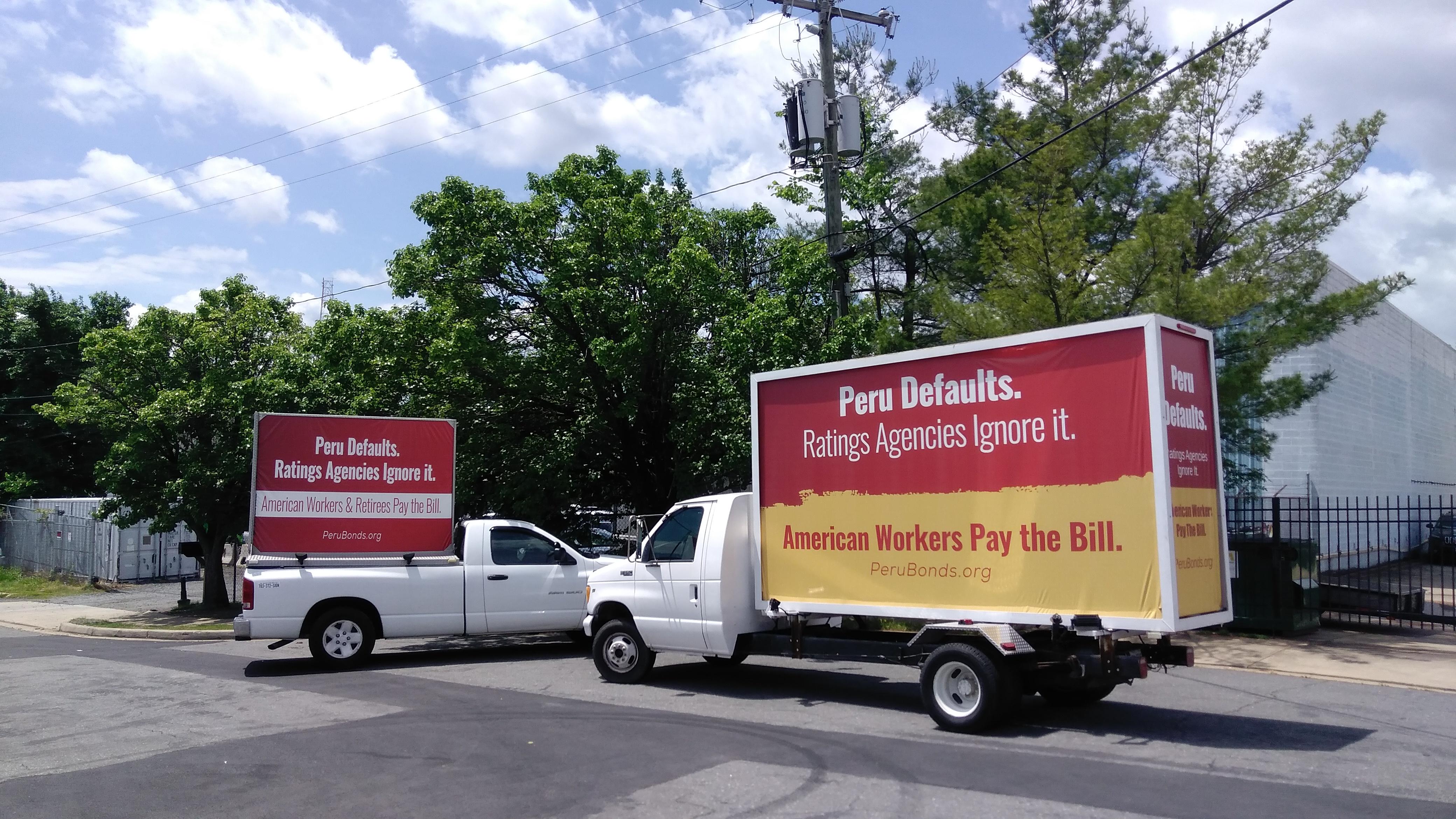 Mobile Billboards in Washington DC, Maryland & Virginia